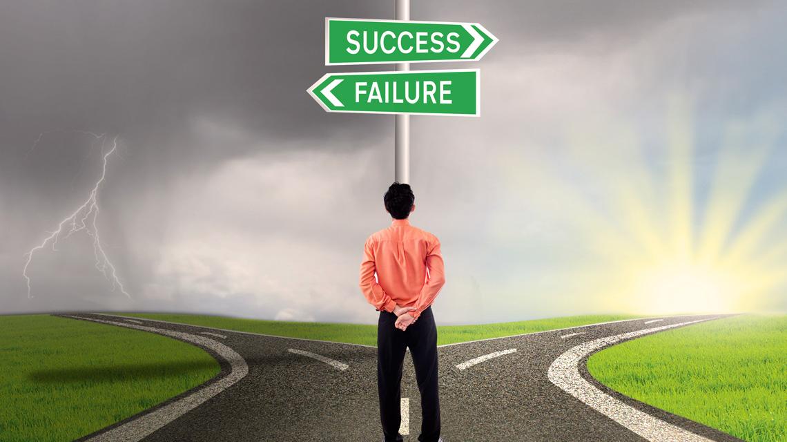 Siker vagy kudarc, avagy a célok elérése vagy feladása