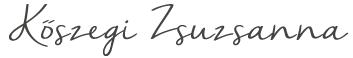 Kőszegi Zsuzsanna kineziológus